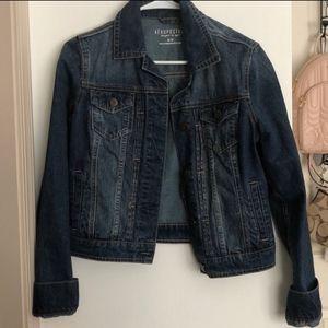 Aeropostale Dark-wash denim jacket size m